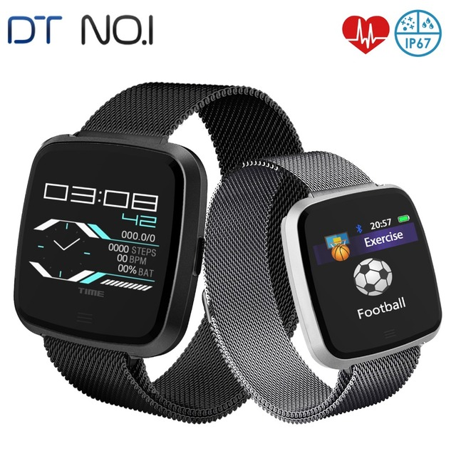 DTNO.I G12 Smart Watch Calorie Burnt Pedometer Heart Rate Monitor Multi Sport IP67 Waterproof Sports Smartwatch for IOS Android