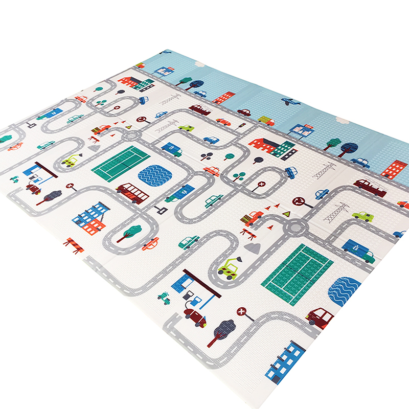 HTB17RCGdlGE3KVjSZFhq6AkaFXaf Baby Play Mat Foldable XPE Puzzle Toys Kids Rug 1cm Thickness Crawling Pad Children's Developing Mats For Toddler Games Activity