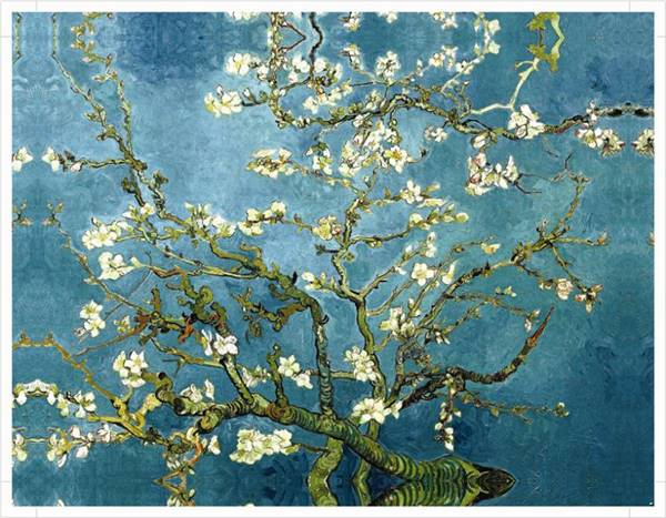 2016 new apricot flower canvas prints classical oil painting picture printed on canvas chinoiserie wall art