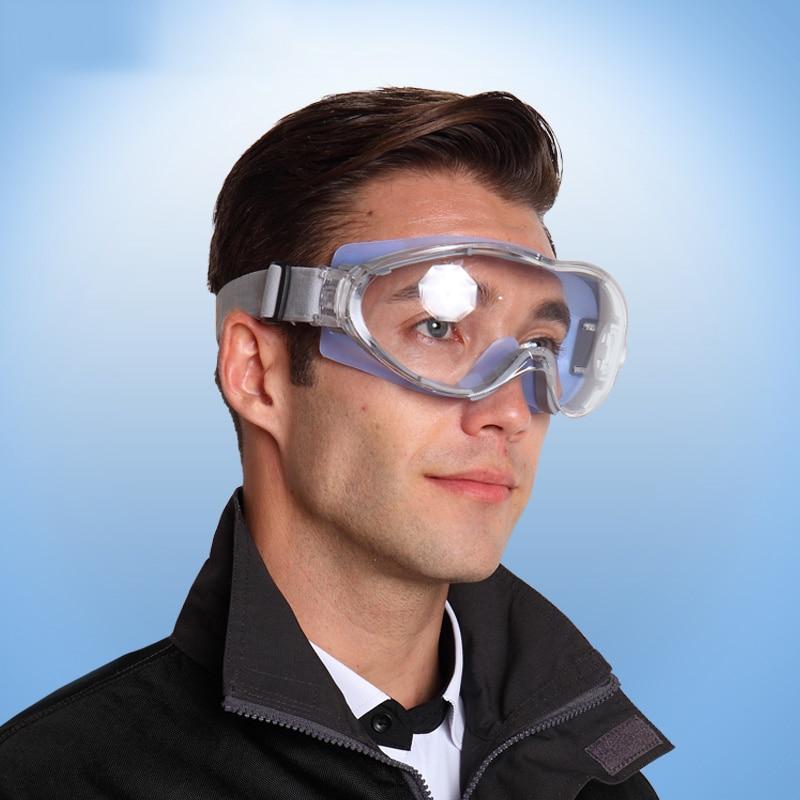 535b04e7681b3 Melhor Transparente Óculos De Segurança À Prova de Vento Tactical Óculos  Equitação Óculos de Bicicleta À Prova de Choque Anti poeira Óculos de Proteção  Do ...