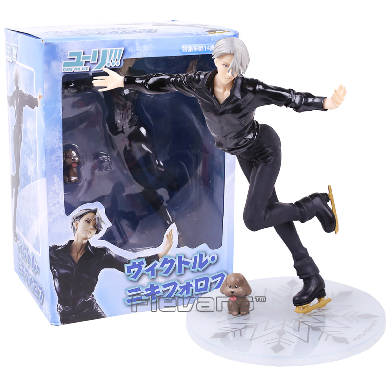 Yuri on Ice Victor Nikiforov 1/8 Scale PVC Figure Collectible Model Toy 21cm yuri on ice figure cosplay katsuki yuri victor nikiforov yuri plisetsky pvc figure phone strap keychain pendant toys