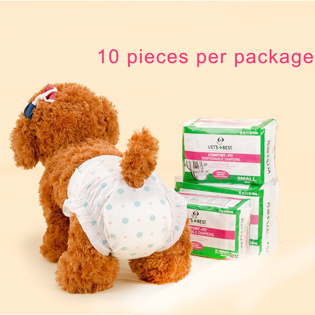 Dog Diaper Female Super Soft And Comfortable Super Absorbent New Safe Home More Choice Pet Diapers Price Concessions Pet Supplie