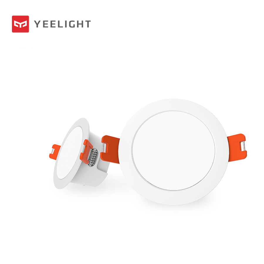 Original xiaomi mi jia yeelight inteligente downlight, e14 lâmpada inteligente e spotlight trabalhar com yeelight gateway para mi casa app kit inteligente