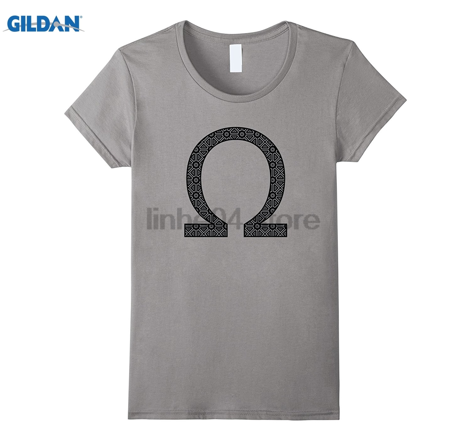 GILDAN Patterned Ohm Symbol Engineering Physics T-Shirt summer dress T-shirt