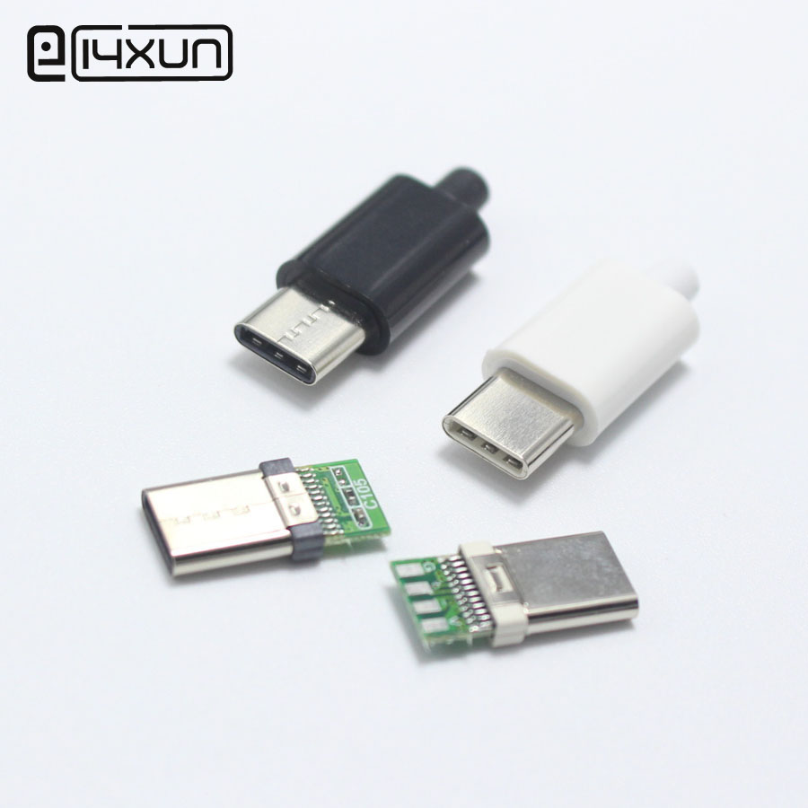 Original Type C 3.1 USB Connector Type-C Fast Charging For Mobile Phone Usb Universal Android Phone Charging  Adaptor DIY Parts
