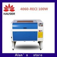 HCZ co2 laser CNC RECI100W 4060 laser engraving cutter marking machine mini laser engraver cnc router laser head diy