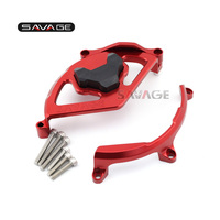 MOTORCYCLE ALUMINUM CNC CLUTCH COVER PROTECTION RED FOR DUCATI 959 Panigale 1199 Panigale 1299 Panigale 2012