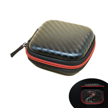 Cheap SD Hold Case Storage Carrying Hard Bag Box Case for Earphone Headphone Earbuds Memory Card Free Shipping Portable EVA