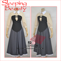 Anime bella durmiente aurora cosplay princesa dress