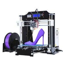 DHL Бесплатная Новые Модернизированный RepRap HBI3 3D-принтеры комплекты Рабочий стол с ЧПУ 3D принтер с 1 рулон PLA нити ce Мощность питания