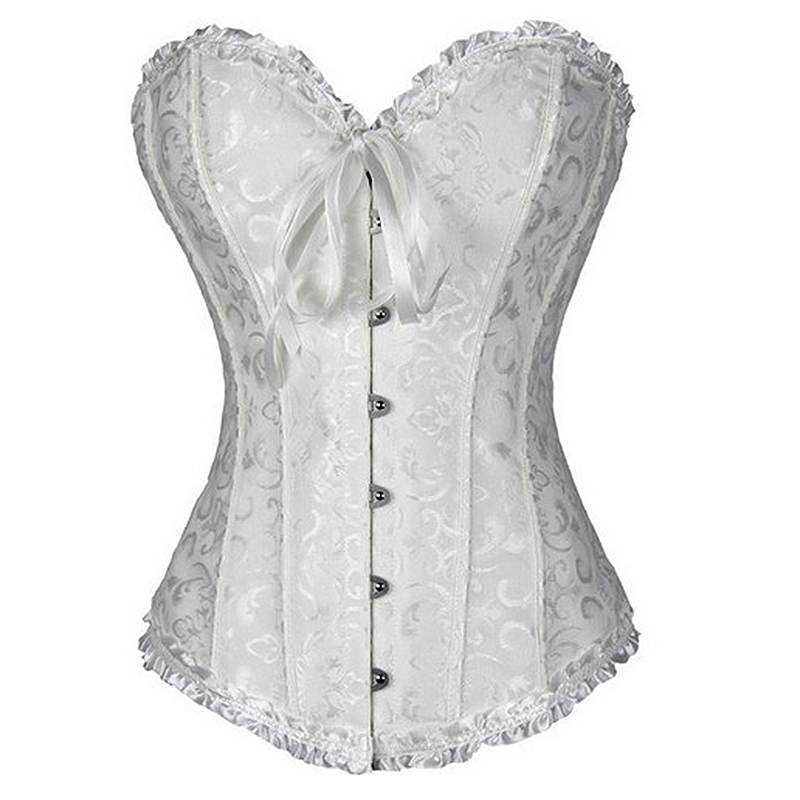 HTB17REeptcnBKNjSZR0q6AFqFXag X Sexy Women steampunk clothing gothic Plus Size Corsets Lace Up boned Overbust Bustier Waist Cincher Body shaper corselet S 6XL
