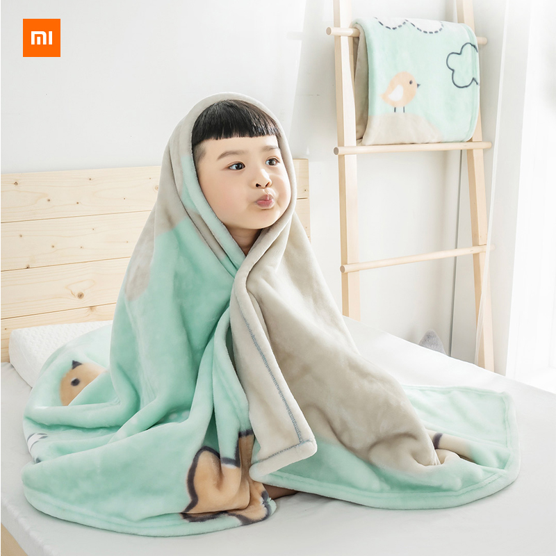 Nouvelle couverture de nuage pour enfants xiaomi mijia youpin COMO LIVING douce comme un nuage chaud et respirant