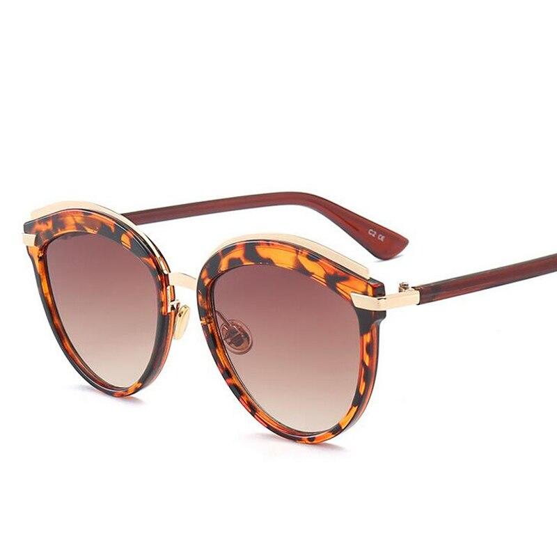 3e1628e4594 Fashion Sunglasses Women Retro Designer Super Round Circle Glasses Cat Eye  Women s Sunglasses Men Glasses Goggles gafas De Sol-in Sunglasses from  Women s ...