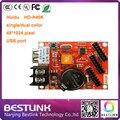 LED контроллер карты HD-A40K 48*1024 pixel HD-U6B одной/двойной цвет контроллер p10 открытый светодиодная вывеска сообщение знак diy kit