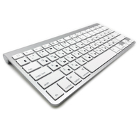 Russian Ultra Slim Bluetooth Keyboard Tablets And Smartphones Wireless Keyboard For Apple Keyboard Style IOS Android