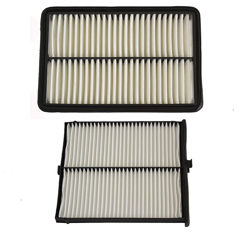 Car Engine Air Filter Cabin Air Filter for Mazda 3 6 CX-5 PE07-13-3A0A KD45-61-J6X image
