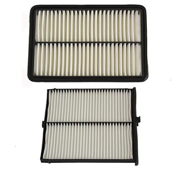 Filtr powietrza silnika samochodowego filtr powietrza kabinowego dla Mazda 3 6 CX-5 PE07-13-3A0A KD45-61-J6X tanie i dobre opinie MANATEE K031-V9-030 KD45-61-J6X HTK-6011 HTT-5011 270mm 40mm China 180mm filter paper 0 2kg