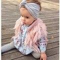 Nova Moda Outono Inverno Meninas Camisola Borla Colete Colete Bebe Handmade do Bebê da Criança Casaco Kikikids Bebê Casaquinho De Malha