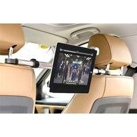 Universal 7-11 Pouce En Aluminium Mobile Téléphone Tablet Voiture De Support de Dos Seat Mont Stand Stents Support Pour iPad Pour Samsung Pour Kindle