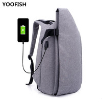 New's USB Canvas Charging bag Hot sale Waterproof and Anti Theft Women Men School Bags For Teenage Girls College Travel Backpack