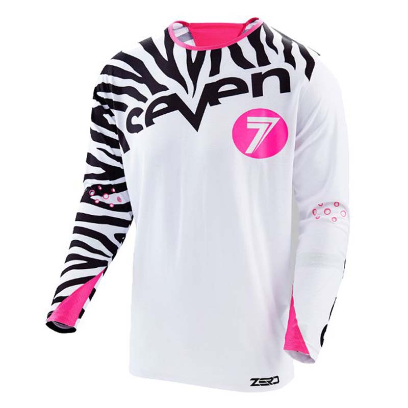 Wholesale MOTO New Men 39 s Seven Pro Riding Team Motocross BMX MX Jersey Ropa Maillot DH MTB Tshirt Quick Dry Downhill Racing Shir in Cycling Jerseys from Sports amp Entertainment