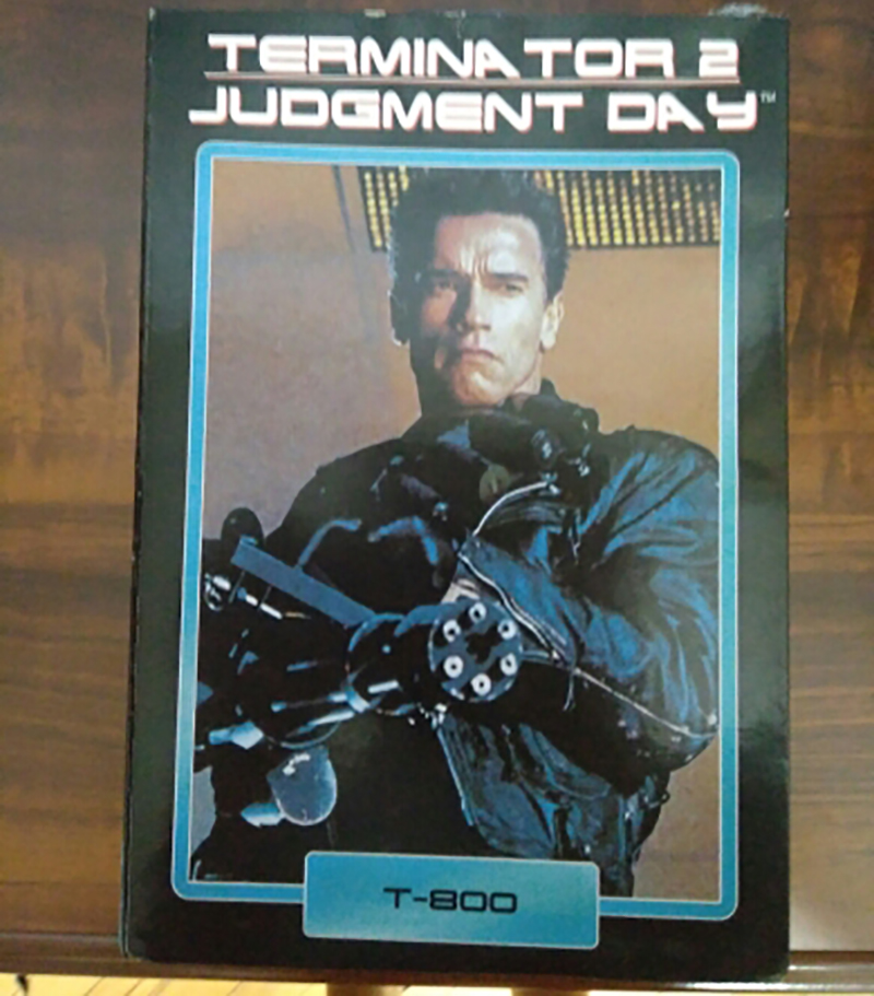 Image 2 - NECA Terminator 2 Judgment Day T 800 Arnold Schwarzenegger PVC Action Figure Model Toy Christmas GiftAction & Toy Figures   -