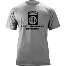 2019 New Summer Men Tee Shirt Army 82nd Airborne Division Subdued Veteran T- Shirt( a29d68cdc