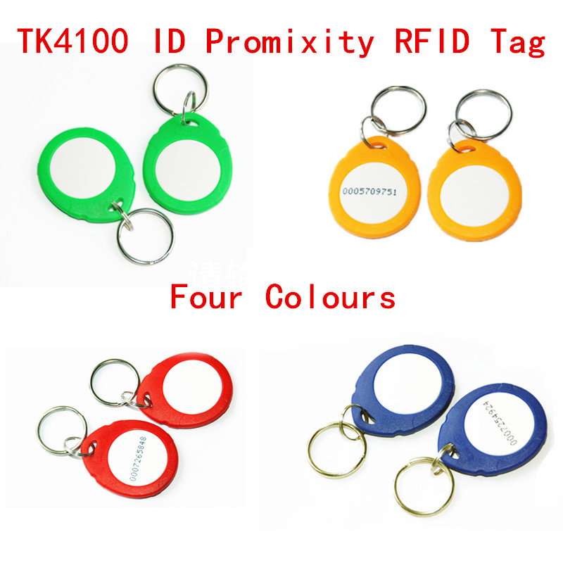 RFID 125khz Promixity ID Tag High quality TK4100 Chip Read Only For Door Access Control System