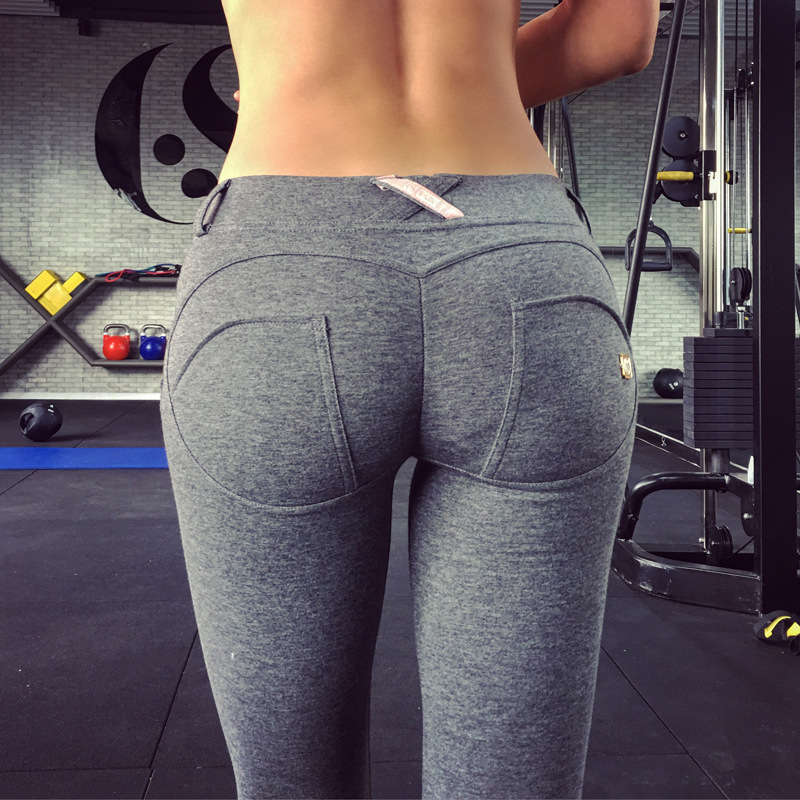 Ass in yoga pants yes