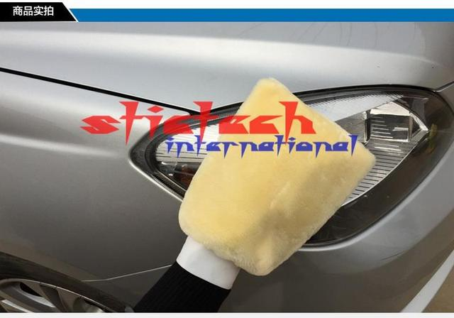 by dhl or ems 100pcs Car Hand Wash Gloves Cleaner Microfiber Wool Soft Comfortable Maintenance Tool Accessories High Quality