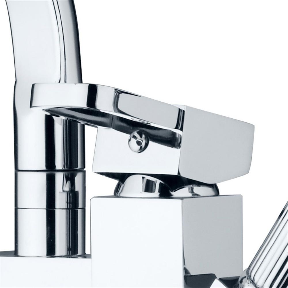 KEMAIDI robinet mitigeur de cuisine en laiton massif robinet de cuisine chaud et froid robinet d'eau monotrou robinet de cuisine torneira cozinha - 5