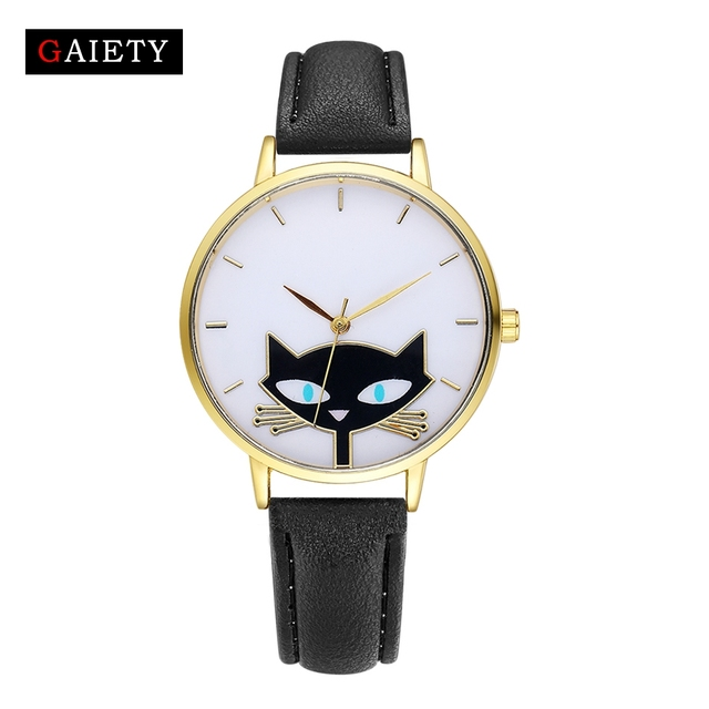 Cartoon Cat Quartz Watch