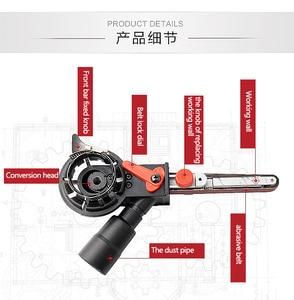 Image 4 - DIY M10/M14 Sanding Belt Adapter Attachment Converting 100/115/125mm Electric Angle Grinder to Belt Sander Wood Metal Working