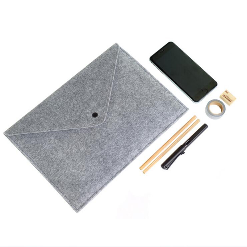 Stylish Durable Felt Folder Business Office A4 Not Easily Deformed File Bag Storage Bag School Office Learning Stationery 1pc