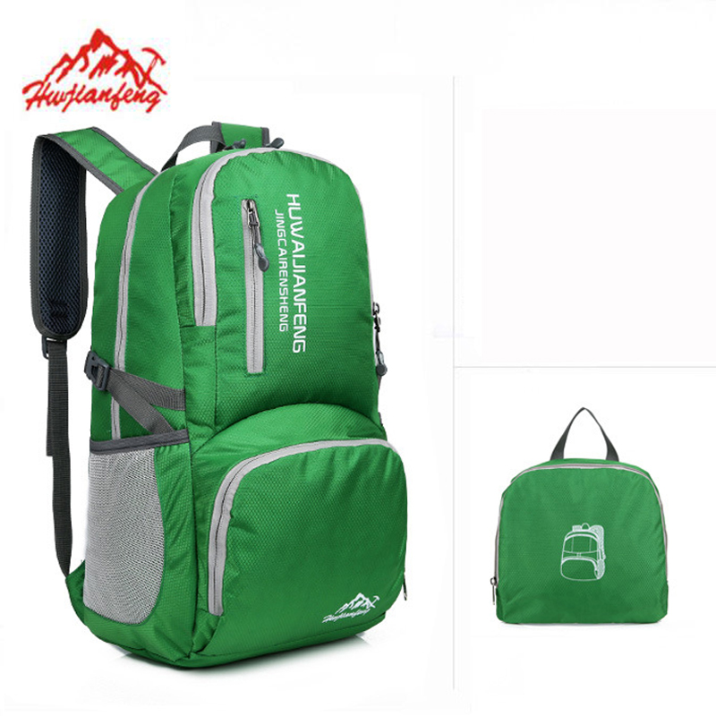 30L Foldable Backpack Travel Folding bag Lightweight Waterproof Camping Outdoor Backpack Men Women Ultralight Sport Bag