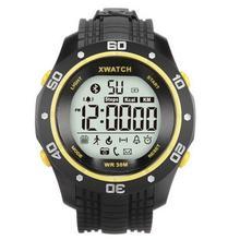 New Smartwatch XWatch Sport Armband Outdoor Wasserdicht staubdicht Armbanduhr Blacklight Schrittzähler Schlaf-monitor Für Android IOS