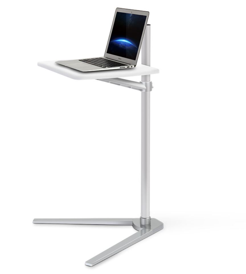 Movable UP-8T Aluminum 7-20 Inch Laptop Floor Stand Height Adjustable Bedside Lapdesk Sofa Desk For Tablet PC Notebook Tea Table