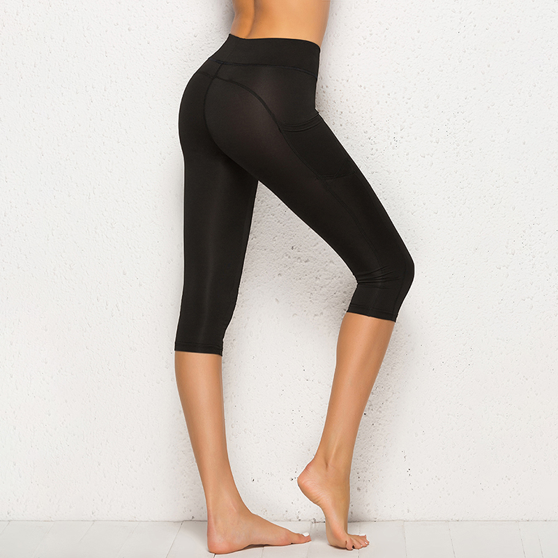 Summer Women Sport Fitness Leggings High Waist Quick Dry Skinny Bike Short Leggings Women Elastic Casual Leggings