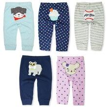 Ограниченная распродажа детских штанов детские шаровары для мальчиков и девочек трикотажные хлопковые леггинсы унисекс для малышей Одежда для новорожденных