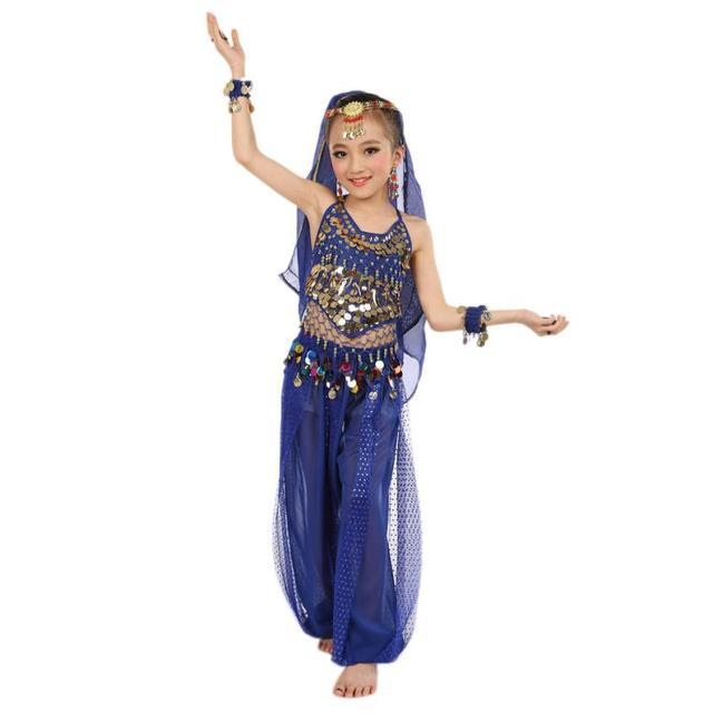 22210dcaa7c5 Clothes set 2017 Handmade Children Girl Belly Dance Costumes Kids Belly  Dancing Egypt Dance Clothes set