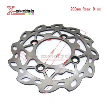 Disco de freno delantero de bicicleta de cross de acero de 200mm para piezas de Pit bike de 110cc/125cc, Mini rotor de freno de motocross barato