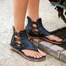 2017 High Top Zipper Flats Dress Shoes Woman Summer Flip Flops High Quality Ladies Women Sandals Zapatos Mujer Rome Shoes 34-40