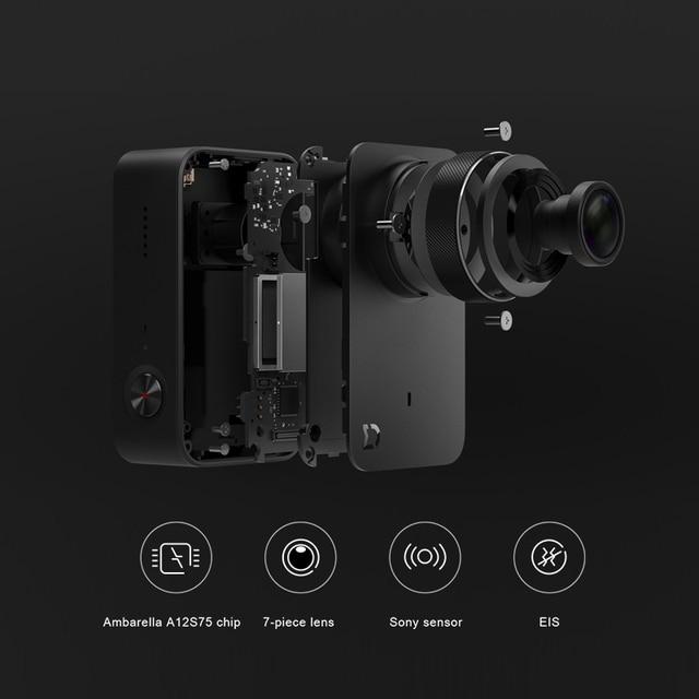 Original Xiaomi Mijia MI Action Camera 4K / 30FPS Ambarella A12S75 Smart Mini Sports Cam Bluetooth EIS WiFi 2.4 2