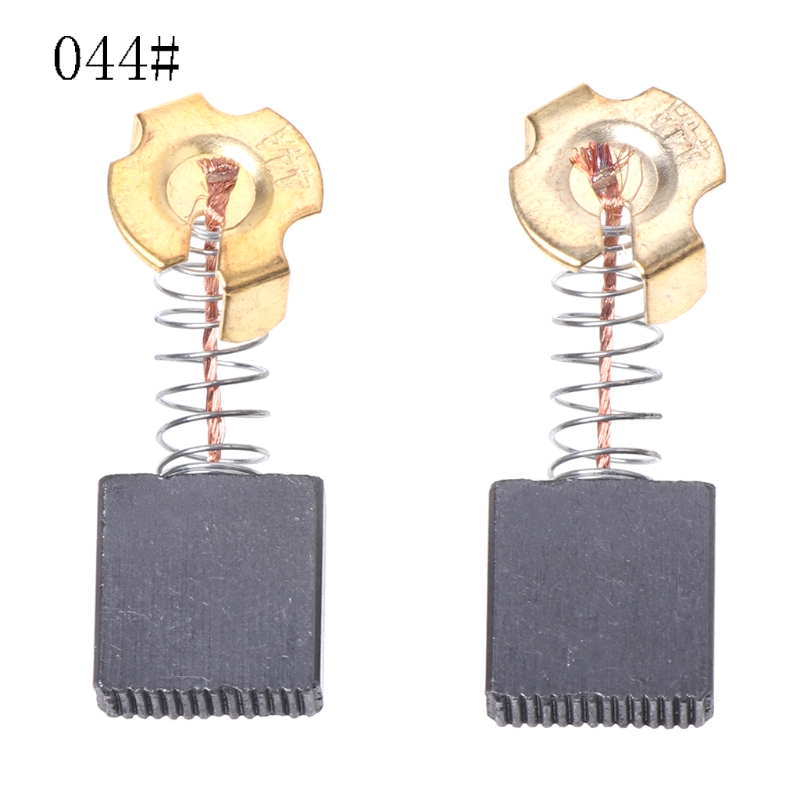 2Pcs Electric Drill Carbon Brush Spare Part For DEWALT BOSCH MAKITA ElectricTool 044#