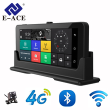 E-ACE 4G Car Dvr Camera ADAS Android Autoregister With GPS Navigation Full HD 1080P Video Recorder Two Cameras Vehicele Blackbox