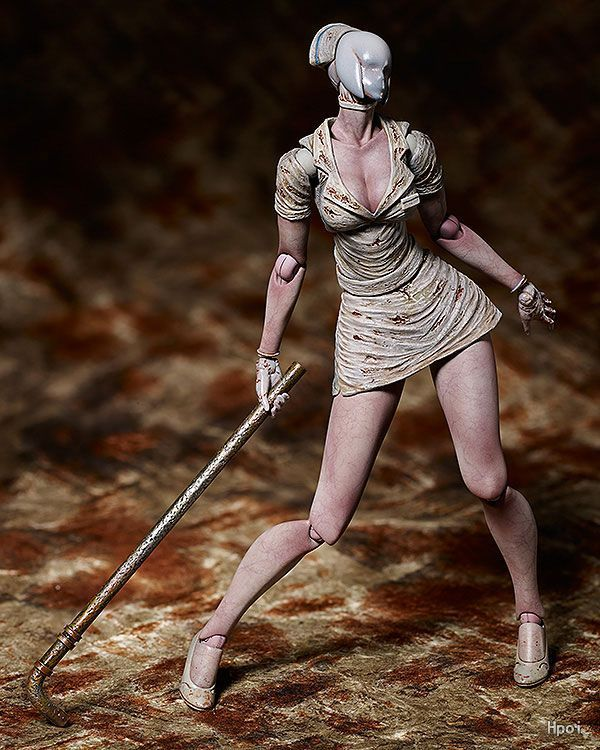 Game Silent Hill 2 SP061 No Face Nurse Figma Action Figure Collectible Model Toy 15cm