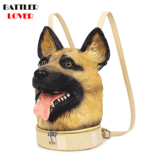 Backpacks Cute Bag Teenager Female Lady Sweet Women Emboss Dog 3D Leisure Party Soft