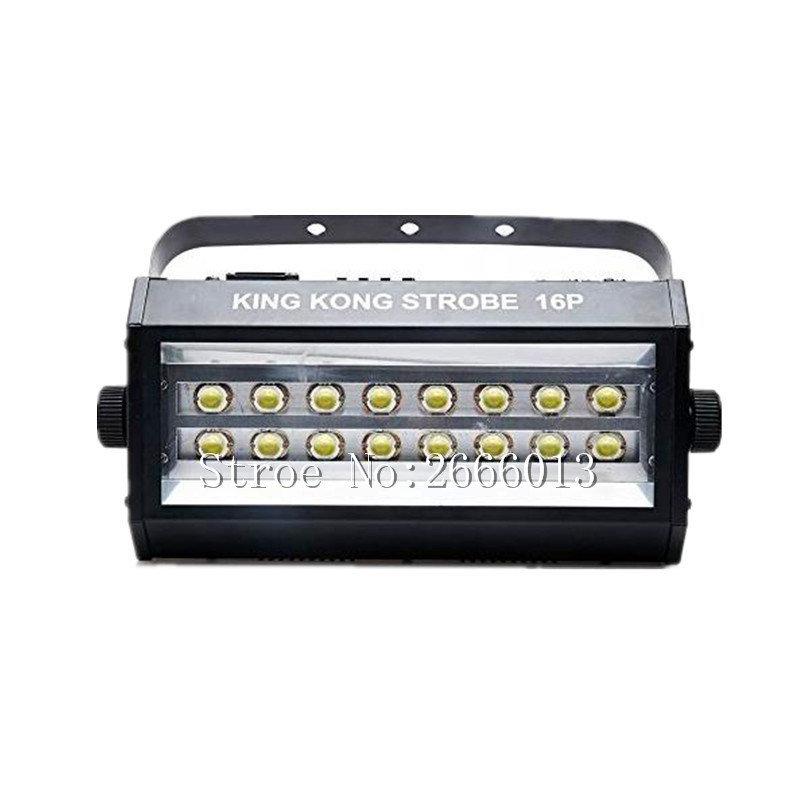 400W High power super bright DMX512 Voice control 16 LED Stroboscope 400W Strobe Lamp Party Disco DJ Bar Light led flash lights mipow btl300 creative led light bluetooth aromatherapy flameless candle voice control lamp holiday party decoration gift