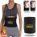 Women Men Sweat Belt Hot Body Shapers Neoprene Slimming Belt Body Shaper Tummy Control Slim Waist Trainer Fat Burning Shapewear
