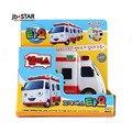 Tayo el pequeño mini bus Alice ambulancia oyuncaklar pista tayo coche juguetes de los niños modelo de coche tayo busjuguetes para ninos